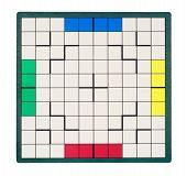 Empty Square Game Board