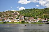 Small Boat In Cachoeira (brazil)