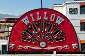 Mississippi Willow Paddle Steamer Side Wheel