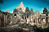 Ta Prom And Angkor Wat Temple, Siem Reap, Cambodia