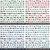 480 Transport icons