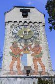 Lucerne Clock-Tower Switzerland