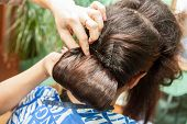 Combing hair styles for wedding
