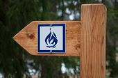 Camp Fire Sign