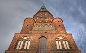 Cathedral St. Nikolai in Greifswald (Mecklenburg-Vorpommern, Germany)