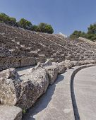 patterns of Epidaurus ancient Greek theatre