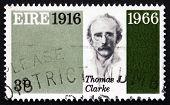 Postage Stamp Ireland 1966 Thomas James Clarke, Revolutionary