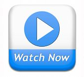 picture of watching movie  - watch video button or play movie now online - JPG