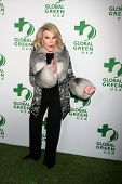 LOS ANGELES - FEB 26:  Joan Rivers at the Global Green USA Pre-Oscar Event at Avalon Hollywood on Fe