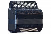 stock photo of accordion  - Image of accordion under the white background - JPG