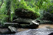 image of lingam  - Kbal Spean  - JPG