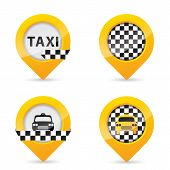 Gps Pointers With Taxi Specific Elements