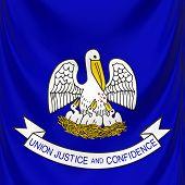 Flag Of Louisiana, Usa State
