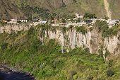 The Pastaza River and Banos in Ecuador