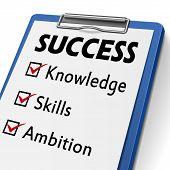Success Clipboard
