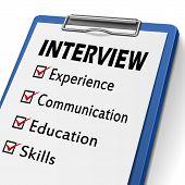 Interview Clipboard