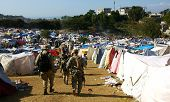 Haiti 2010 refugee camp