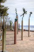 National Sculpture Park Millesgarden In Stockholm