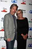 LOS ANGELES - AUG 21:  Gary Cole, Wife at the OK! TV Awards Party at Sofiitel L.A. on August 21, 201