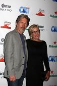 LOS ANGELES - AUG 21:  Gary Cole, Wife at the OK! TV Awards Party at Sofiitel L.A. on August 21, 2014 in West Hollywood, CA