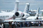 Gulfstream Business Jets no Singapore Airshow