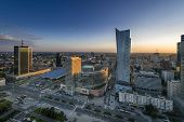 Sundown Over Warszawa City