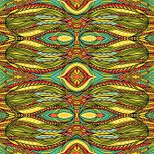 Funky Detailed Tribal Pattern