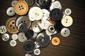 Old Clothing Buttons