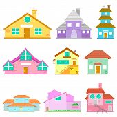 image of duplex  - easy to edit vector illustration of Building Icon Collection - JPG
