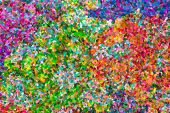 Постер, плакат: Abstract Pointillist Oil Painting