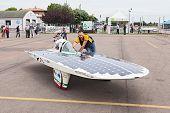 Italian Solar-powered Vehicle