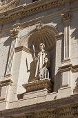 Saint Lawrence Sculpture In Burgos