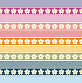 Seamless Floral Pattern-pastel Colours