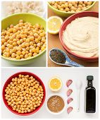 Ingredients For Home Made Hummus