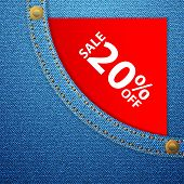 Denim Pocket And Sale Twenty Off