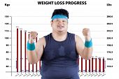 Man In Weight Loss Program