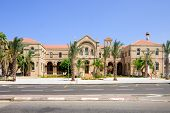 stock photo of carmelite  - A 19th century Carmelite monastery building in Haifa Israel