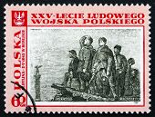 Postage Stamp Poland 1968 Battle On The Neisse, Michal Bylina