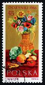 Postage Stamp Poland 1966 Flowers And Farm Produce