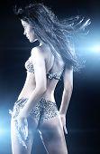 Young Sexy Dancing Woman