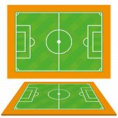 Vector Soccer Team Player Charts Editable With Space For Text
