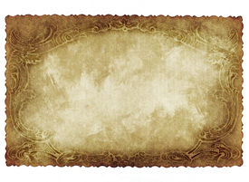 stock photo of rn  - Vintage concept or conceptual old retro aged paper with vintage victorian style isolated on white background - JPG
