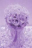 Rose Flower In Purple Color