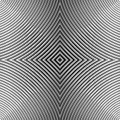 foto of distortion  - Design monochrome movement illusion background - JPG