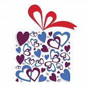 Valentine Hearts Gift