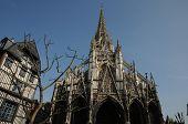 Church Saint Maclou In Rouen In Seine Maritime