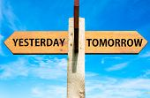 Yesterday versus Tomorrow messages