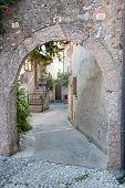 Archway In Malcesine Italy Garda Lake