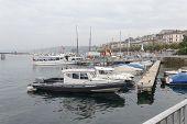Yachts On Lake Geneva