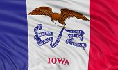 3D Iowa Flag
